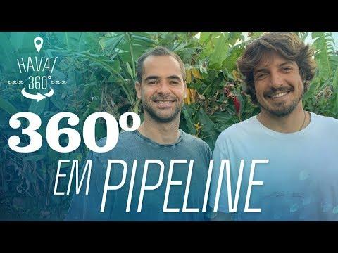 Rolê por Pipeline em 360º | Havaí 360° | Canal OFF
