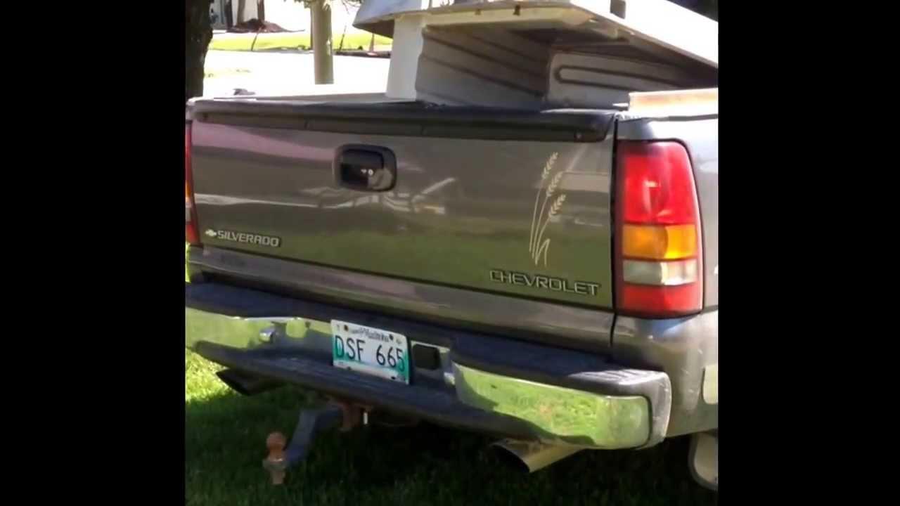 Silverado 99 chevy silverado exhaust : 99 Silverado 5.3L Straight piped dual exhaust - YouTube