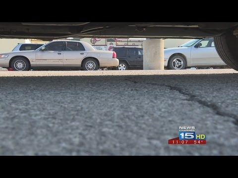 Victim's vehicle vandalized on movie theater parking lot