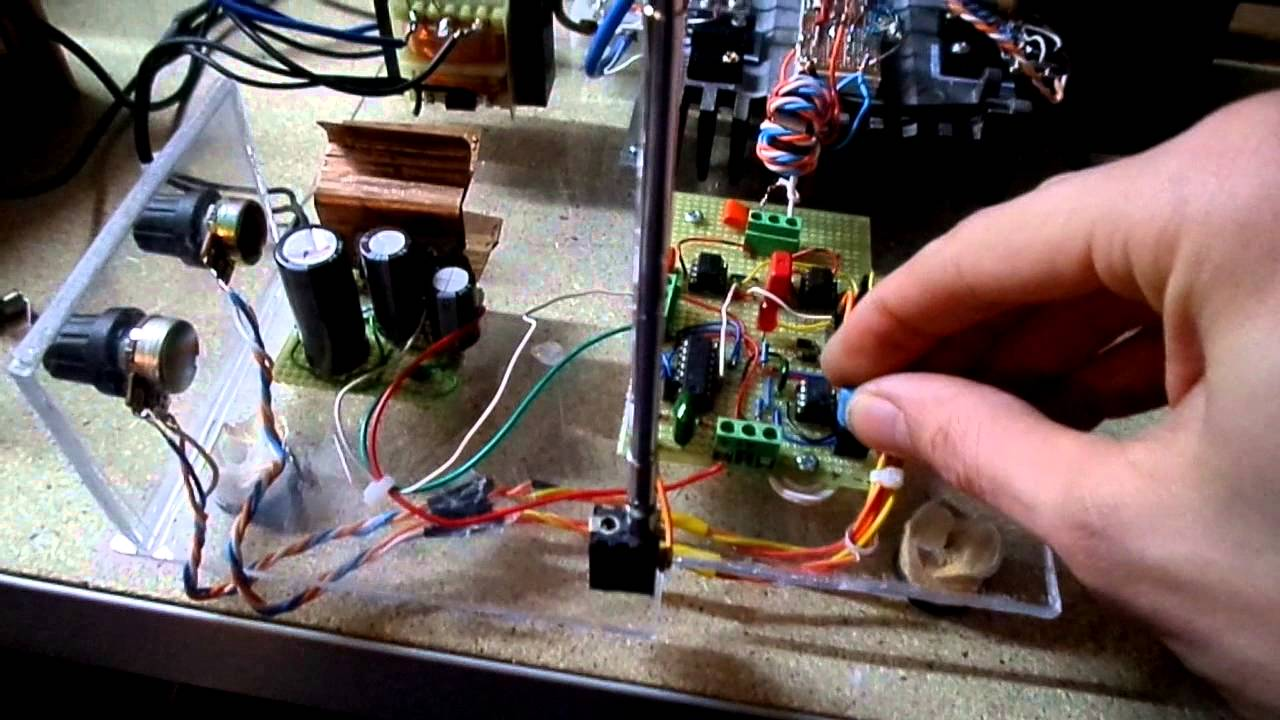 Mini Half Bridge Sstc Part 2 Schematic Of Solid State Tesla Coil With Igbt