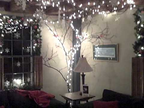 1785 inn restaurant christmas decorations 2011 north conway nhwmv