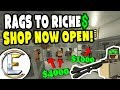 SHOP NOW OPEN! | Unturned Roleplay Survival (Rags to Riches Reboot #29) - Rare Items Sale (RP)