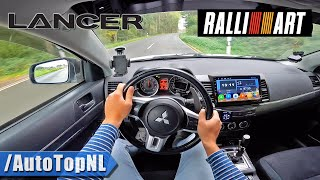 Mitsubishi Lancer Ralliart POV Test Drive by AutoTopNL