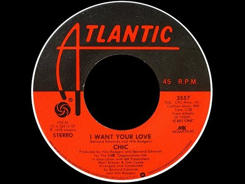 Chic ~ I Want Your Love 1978 Disco Purrfection Version