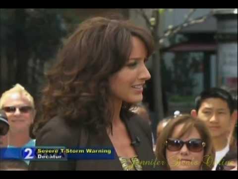 Jennifer Beals - Interview: Extra (@The Grove) (April 22, 2011)