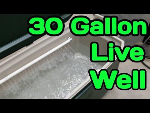 30 Gallon Live Well DIY