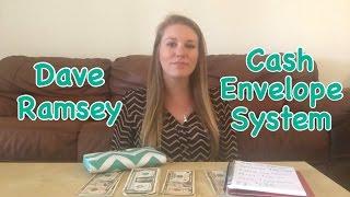 my cash envelope system   dave ramsey inspired