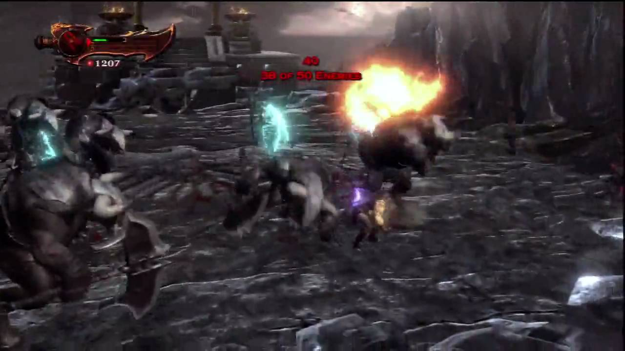God Of War 3 Blades Of Exile God of War 3 Challenge...