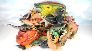 My Dinosaurs Toys collection. Learn Dinosaur For kids Learning Dino Toy Jarassic World Surprise Toy