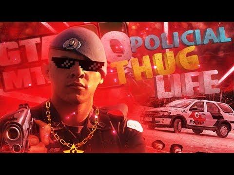 🎮 GTA MTA RP -(O POLICIAL THUG LIFE)- |*Cidade Moderna* #16| FiveM de Pobre