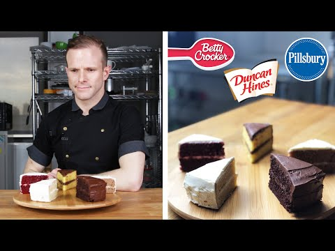 Pastry Chef Reviews Boxed Cake Mix