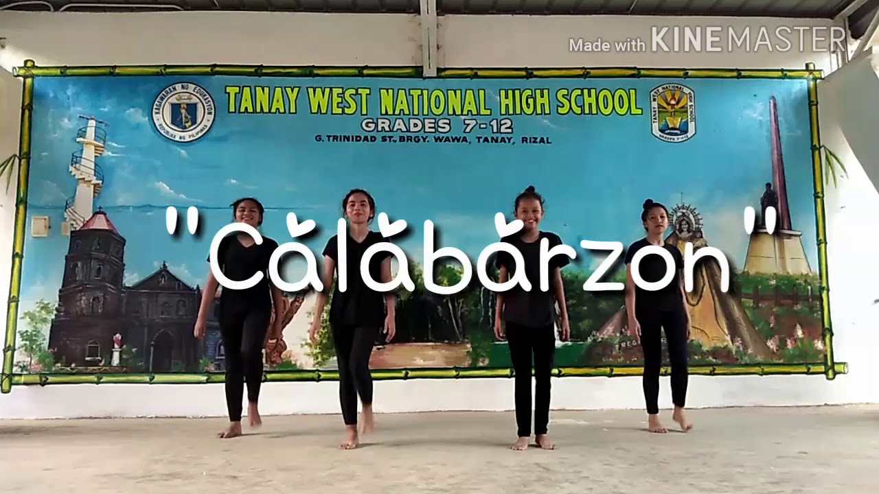 CALABARZON MARCH DANCE STEPS (NEW)