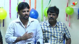 Puli Director Chimbudevan Speech - Another problem for Vijay's 'Puli' | Press Interaction