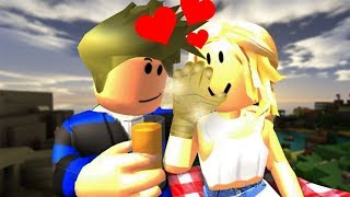 I FELL IN LOVE WITH A GOLDEN-HANDED GIRL! -ROBLOX HORROR STORIES 3