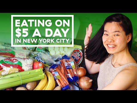 I Lived On A $5 A Day Budget For A Week In New York City
