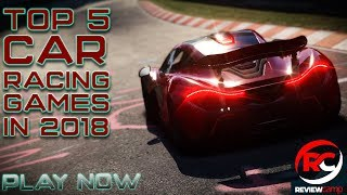 Top 5 Realistic Racing Games For Android 2018/ (Offline & Online)/ included game size