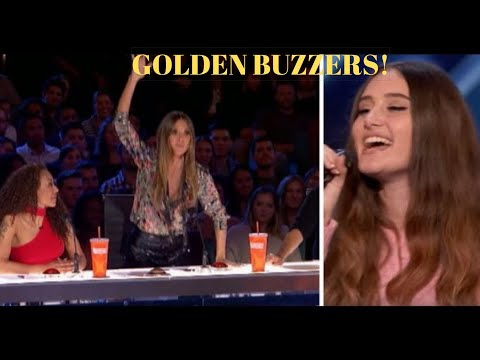 All Heidi Klum Golden Buzzers On AGT/AGT Champions