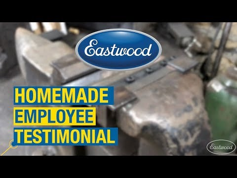 "Homemade Employee Testimonial - 4"" & 6"" Vise Press Brake - Fabricating Brake Line Brackets"