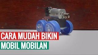 Cara Mudah Membuat Mobil Mobilan Dengan Dinamo