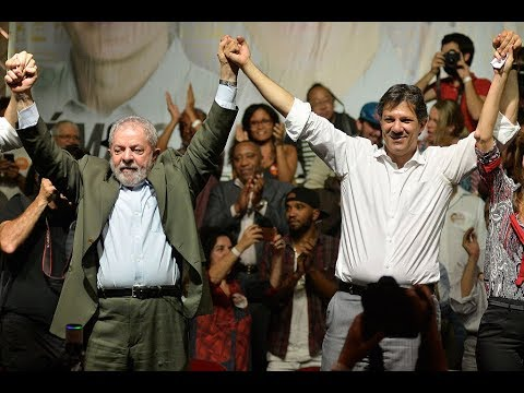Brazil's Workers' Party Replaces Lula with Running Mate for the Presidency