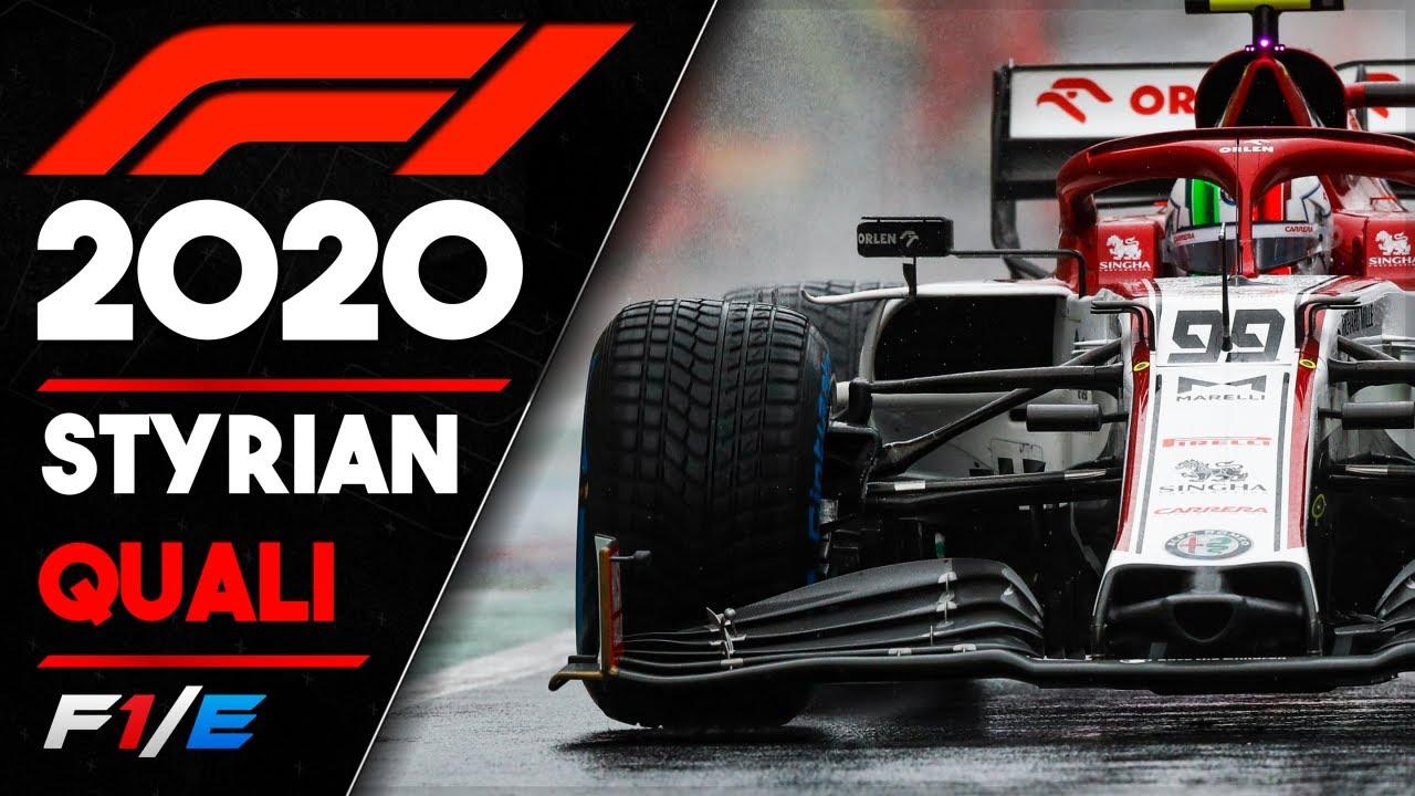 Styrian Qualifying Report F1 2020