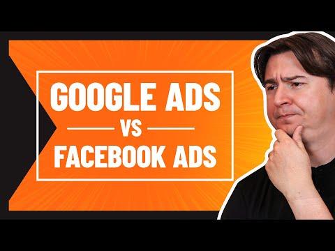 GOOGLE ADS VS FACEBOOK ADS: COMO EU AVALIO QUAL PODE GERAR MAIS VENDAS