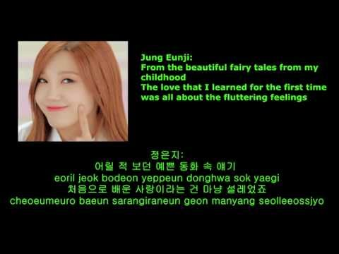 에이핑크(APink) - 사랑동화 (Fairytale Love) English Subs, Romanization and Korean lyrics