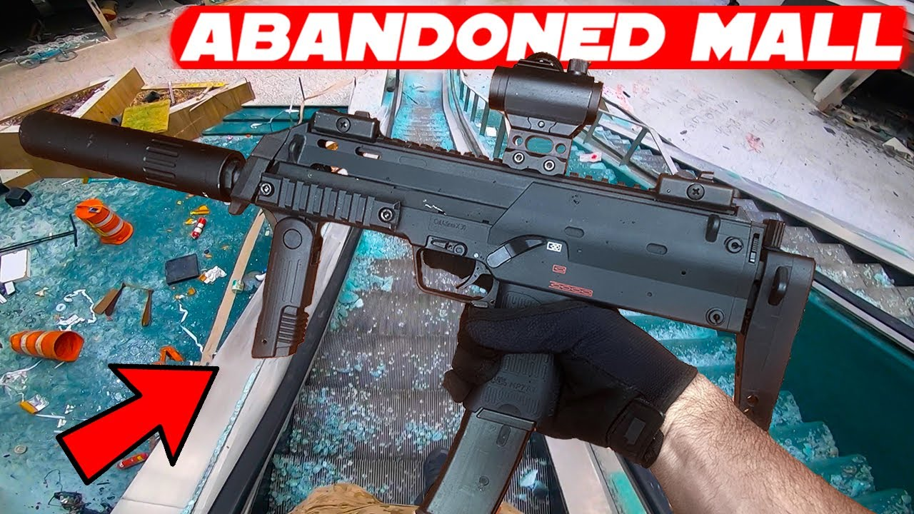 Top/Best Abandoned Shopping Mall Airsoft Gameplay Moments!
