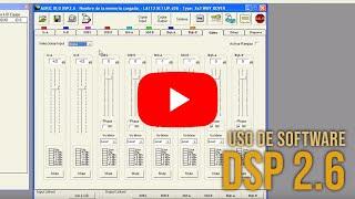 Uso de software AURIC DSP 2.6 - Sensey TV