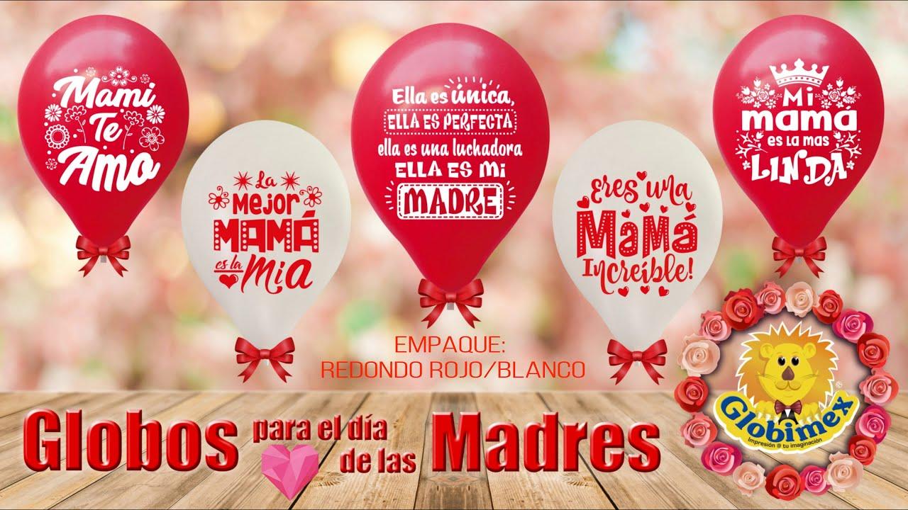 Globos para el d a de las madres youtube for Decoracion para el dia de la madre