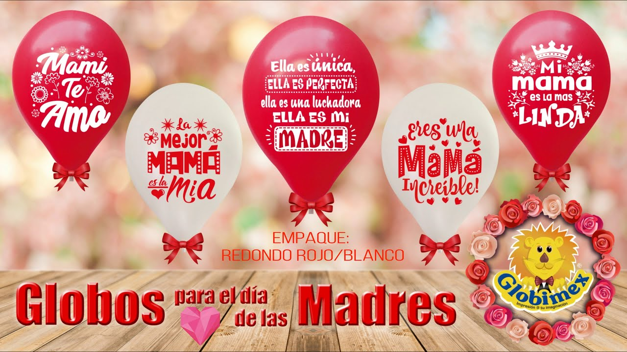 Globos para el d a de las madres youtube - Decoracion dia de la madre ...