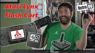 Atari Lynx Game Drİve Review - (Flash Cart) - Adam Koralik