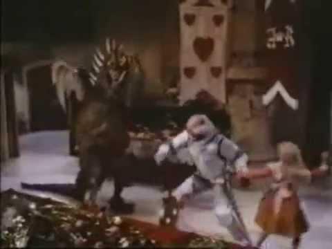 Alice In Wonderland 1985 Jabberwocky Scenes Youtube