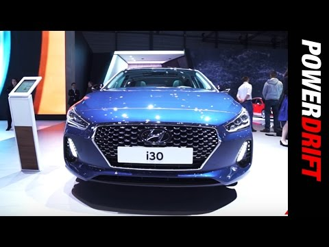 Hyundai i30 and i30 Wagon Geneva Motor Show PowerDrift