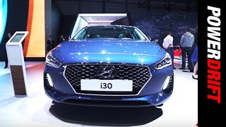 Hyundai i30 and i30 Wagon Geneva Motor Show PowerDrift смотреть