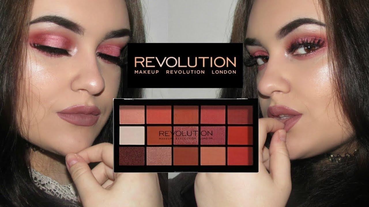 Makeup revolution reloaded palette iconic division