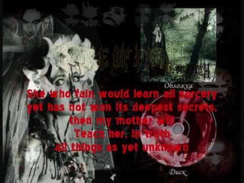 Cradle of Filth - The Forest Whispers My Name with readable subtitled lyrics