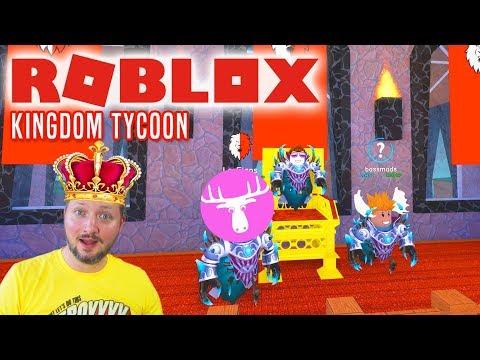 JEG ER KONGEN, ELG! - Roblox Kingdom Tycoon dansk med Den Mandige Elg