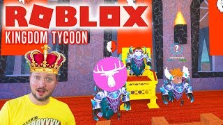 I AM THE KING, MOOSE! -ROBLOX Kingdom Tycoon Danish with the Manly Moose