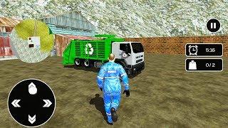 Off Road Garbage Truck 2019 Simulator Gameplay | Gadi Wala Game (गाड़ी वाला गेम)