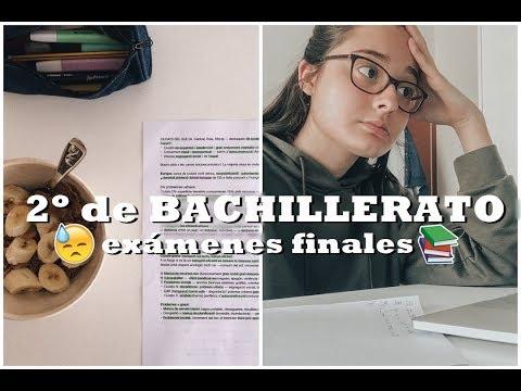 3c59f8c1e SEMANA EXÁMENES FINALES 2º BACHILLERATO