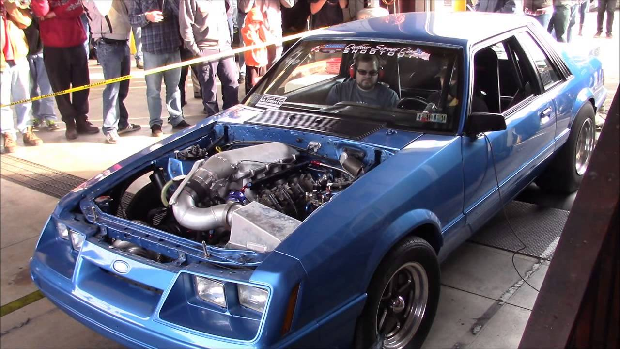 LS Turbo Mustang Drag Car - Sloppy Mechanics Fall Dyno Day 2015 ...