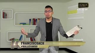Franciscoach puso a Sara Uribe a meditar con un truco chino