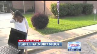 Teacher Attacks Student ! OUTRAGEOUS