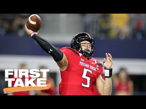 Patrick Mahomes II Is The Antithesis Of Alex Smith | First Take | April 28, 2017