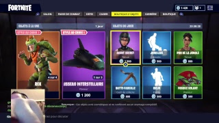 SKIN FREE WEEK / FORTNITE BOUTIQUE JULY 24, 2018