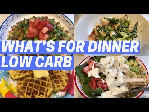 what's-for-dinner- -quick-&-easy- -low-carb-meals