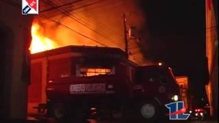 Incendio Centro Historico Quetzaltenango PERDIDAS MILLONARIAS