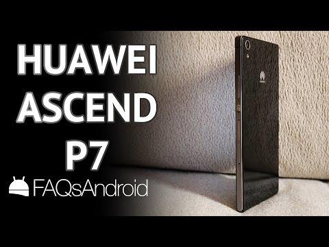Huawei Ascend P7: análisis en español