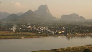 Hpa An City. MYANMAR